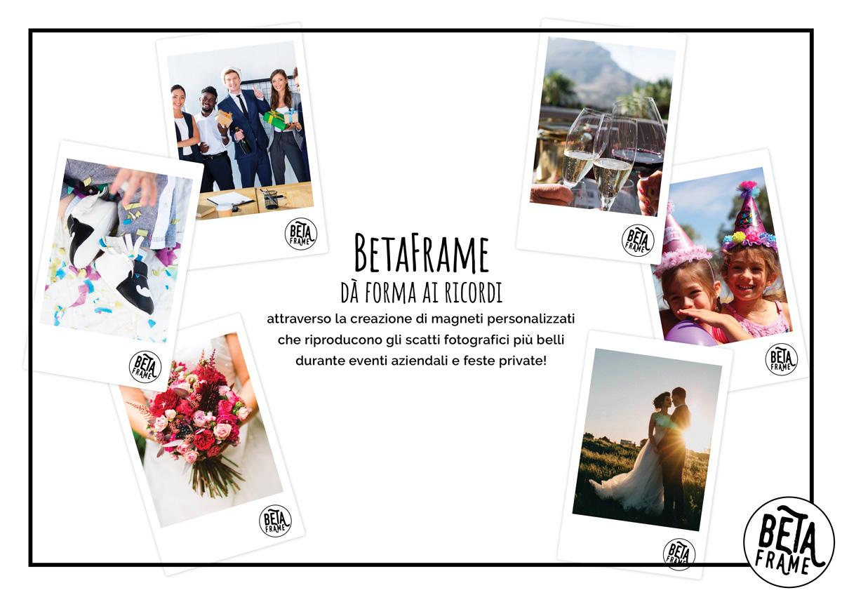 BETAFRAME brochure servizi formato digitale